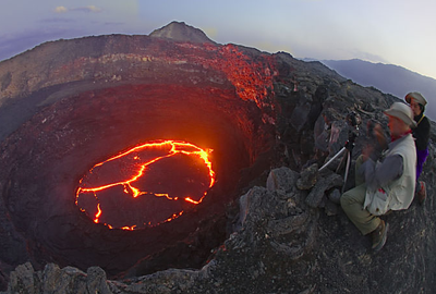 erta ale vulcano