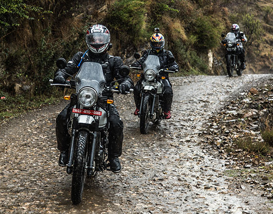 himalaya in moto