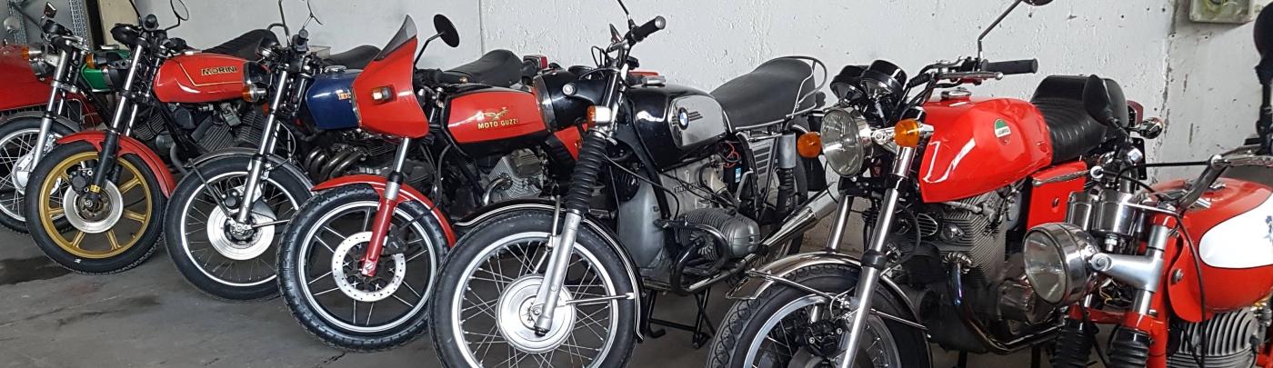viaggi con moto d'epoca